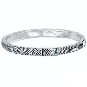 {Brighton} Acoma silver bangle